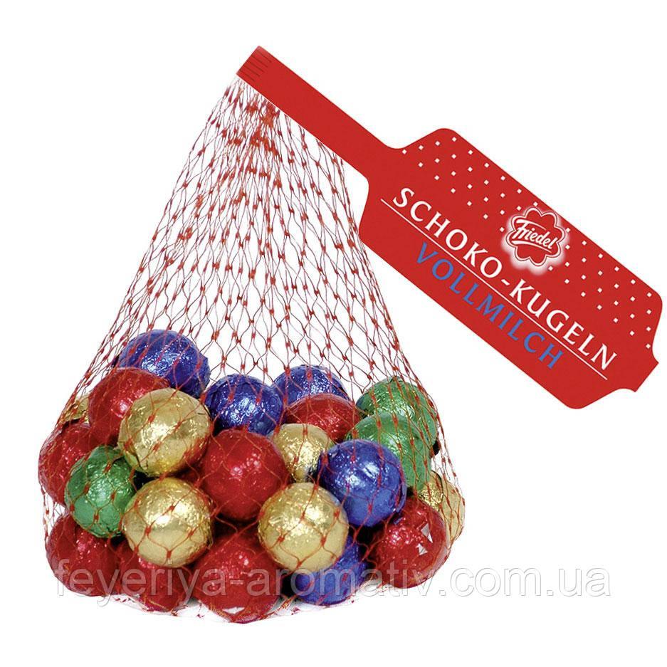 Конфеты шоколадные шарики Friedel новогодний подарок 200г (Германия)