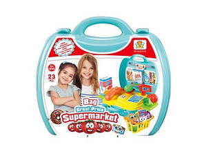 Игровой набор Супермаркет в чемодане