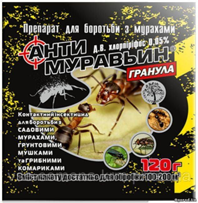 Антимуравьин 120 г (гранула) (лучшая цена купить оптом и в розницу)