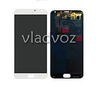 Дисплей модуль экран с сенсором для замены на Meizu MX5 LCD белый