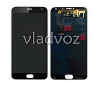 Дисплей модуль экран с сенсором для замены на Meizu MX5 LCD черный