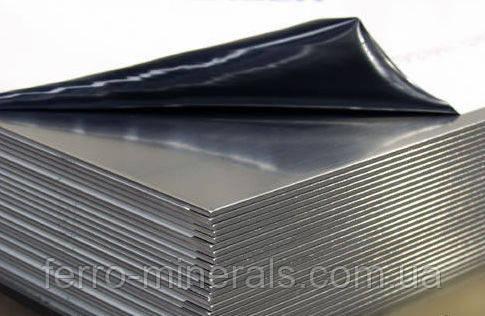 Нержавеющий лист 0,5х1000х2000мм,  AISI 304 (08X18H10), 2В