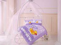 Постельное белье в детскую кроватку 100*150 Уточка  TM Clasy