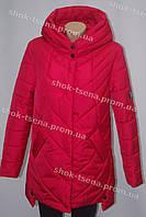 Теплая  зимняя женская куртка больших размеров Камилла  на синтепоне купить опт и розница