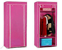 Шкаф тканевый 1 секция, шкаф-органайзер для хранения одежды, шафа