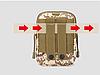 Поясные сумочки тактические, военные, штурмовые Кайот, фото 6