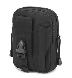 Поясні сумки тактичні, військові, штурмові Чорна