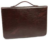 Папка-портфель для документов 4U Cavaldi, B0415  brown коричневая