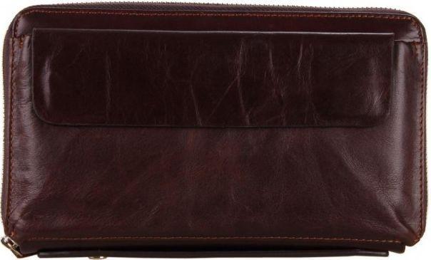 f21eb5554485 Мужской удобный кожаный клатч TIDING BAG, 8039C коричневый - SUPERSUMKA  интернет магазин в Киеве