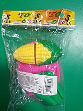 """Дитячий набір """"Овочі та фрукти"""" на липучках в кульку RB0993"""