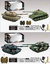 Танковый бой на дистанционном управлении