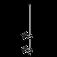 Молниеприемник алюминиевый Ф 18 мм. высотой 6000 мм.