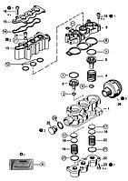 Р/к клапана магнитного ecas (производство Wabco ), код запчасти: 4729000092