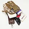 Поясные сумочки тактические, военные, штурмовые Кайот(песок), фото 2
