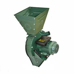 Зернодробилка FilTech ДКУ 4 кВт (зерно/кукуруза, до 400 кг/час), фото 2