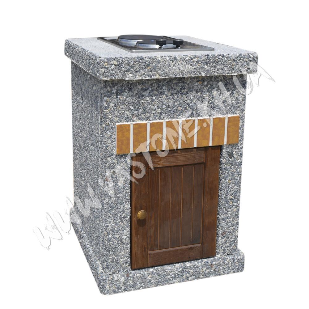 Стол-плита «Манчестер» №2 с дверцей