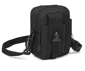 Поясні сумки тактичні, військові, штурмові Чорний
