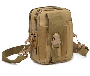 Поясные сумочки тактические, военные, штурмовые Кайот(песок)