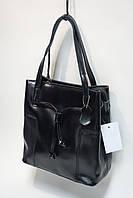 Женская сумка из натуральной кожи F-015 black
