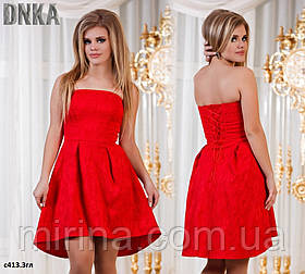 Платье корсет с413.3гл