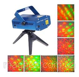 Лазеный проектор Wave Art 150 mW (узоры)