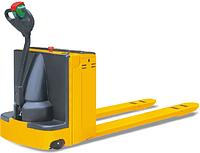 Skiper SDB20 самоходные тележки для паллет, г/п 2000 кг, вилы 1150/550