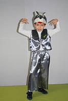 Детский новогодний карнавальный костюм волк