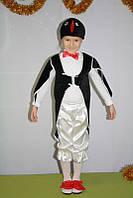 Детский новогодний карнавальный костюм пингвина