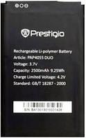 Аккумулятор Prestigio PAP4055 2500 mAh Батарея оригинальная. 1 год гарантии.