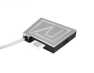 USB Hub Remax RU-U7 Rhyden Card-Reader 3*USB3.0 silver