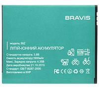 Аккумулятор Bravis Biz 1400 mAh AAAA/Original. Батарея оригинальная. 1 год гарантии.
