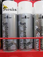 Краска для радиаторов батарей отопления Newton баллончик спрей 400мл