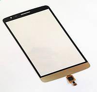 Тачскрин для LG D690 G3 Stylus/D693, золотистый