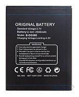 Аккумулятор Doogee DG580 2500 mAh AAAA/Original. Батарея оригинальная. Гарантия: 1год.