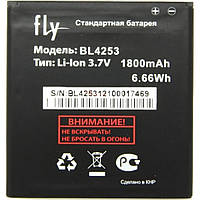 Аккумулятор Fly 1800 mAh BL4253 IQ443 AAAA/Original Grand. Батарея оригинальная. Гарантия: 1год.