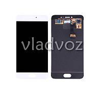 Дисплей модуль экран с сенсором для замены на Meizu Pro 6 LCD белый