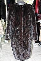 Пальто меховое норковое