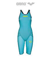 Женский стартовый гидрокостюм Arena Powerskin Carbon Flex VX (Turquoise/Black), фото 1