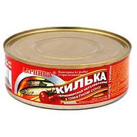 Килька в томатном соусе  Даринка 240 г
