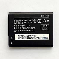 Аккумулятор Lenovo BL169 2000 mAh P70, A789, S560, P800. Батарея оригинальная. Гарантия: 1год.