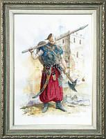Набор для частичной вышивки крестом РК-062 Казак - победитель