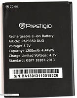 Аккумулятор Prestigio PAP3350 1200 mAh. Батарея оригинальная. Гарантия: 1год.