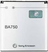 Аккумулятор Sony Ericsson BA750 1500 mAh LT15i, LT18i, X12i. Батарея оригинальная. Гарантия: 1год.
