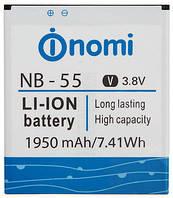 Аккумулятор NOMI NB-55 для i505 1950 mAh Батарея оригинальная. Гарантия: 1год.
