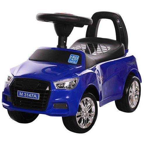 Каталка-толокар Bambi M 3147A-4 Audi(ауди), синяя