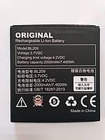 Аккумулятор Lenovo BL209 2000 mAh A516, A706, A766 Батарея оригинальная. Гарантия: 1год.