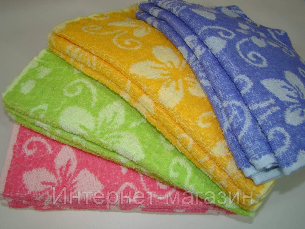 Кухонное полотенце махровое (30х70 см) код 0087