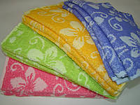 Кухонное полотенце махровое (30х70 см) код 0087, фото 1