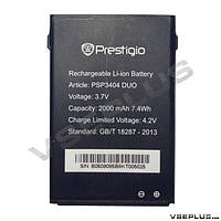 Аккумулятор Prestigio PSP3404 2000 mAh Батарея оригинальная. Гарантия: 1год.
