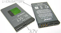 Аккумулятор Nokia BL-5CT 1050 mAh 3720, 5220 Батарея оригинальная. Гарантия: 1год.